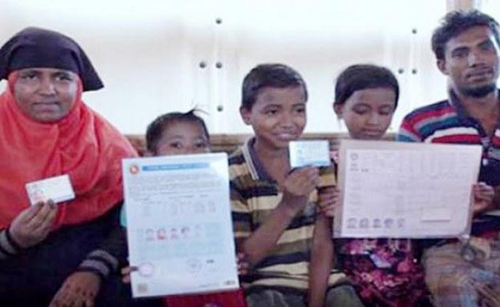 আড়াই লাখ রোহিঙ্গাকে পরিচয়পত্র দিয়েছে জাতিসংঘ