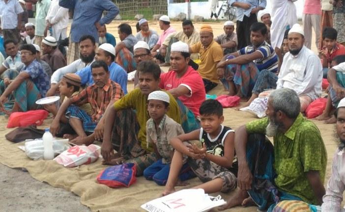 পাটকল শ্রমিকদের শিশুরা আন্দোলনে নেমেছে
