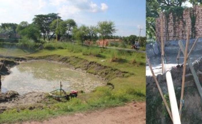 তালায় অবৈধভাবে বালু উত্তোলন, জরিমানা