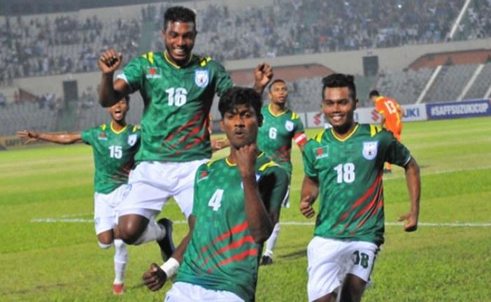 কলকাতায় ৩৪ বছর পর বাংলাদেশ-ভারত ফুটবল ম্যাচ
