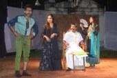 খুবিতে নাটক 'মহারাজার আর্শীবাদ' মঞ্চস্থ