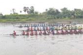 তালায় কপোতাক্ষ নদে ঐতিহ্যবাহী নৌকাবাইচ অনুষ্ঠিত