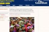 দ্য গার্ডিয়ানে শেখ হাসিনার নিবন্ধ: ঘূর্ণিঝড় ও করোনার বিরুদ্ধে লড়াই