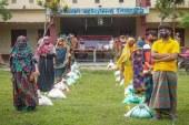 তালায় গ্রাম ভিত্তিক গড়ে তোলা হচ্ছে আপদকালীন খাদ্য ভান্ডার