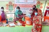 কয়রা ও দাকোপে'নারীর মর্যাদা সুরক্ষায় উপকরণসমূহ' বিতরণ শুরু
