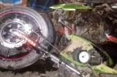 তালায় বাসচাপায় মোটরসাইকেল আরোহী নিহত