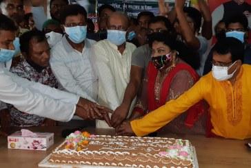 মোংলায় বঙ্গবন্ধুর দৌহিত্র শেখ তন্ময় এমপি'র জন্মদিন পালন